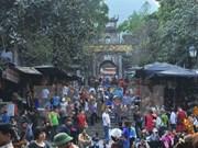 El festejo de Pagoda Huong atrae un millón 500 mil visitantes