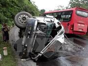 Reportan 34 accidentes de tráfico en primer día festivo
