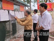 Animado ambiente preelectoral en provincia de Ninh Binh