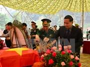Entregan restos de soldados vietnamitas fallecidos en Laos