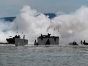 Inauguran en Brunei primera maniobra de seguridad marítima de ADMM+
