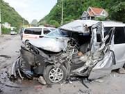 Reportan 152 accidentes de tráfico en días feriados