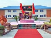 Inauguran en Camboya obra militar con asistencia financiera de Vietnam