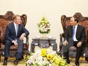 Premier vietnamita recibe delegación de empresarios estadounidenses