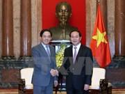 Presidente de Vietnam recibe a embajador chino