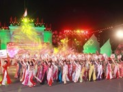 Apertura del quinto festival de framboyán en ciudad de Hai Phong