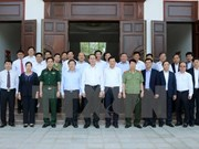Presidente vietnamita realiza visita de trabajo a provincia montañosa