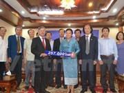 Laos respalda a pobladores vietnamitas afectados de sequía