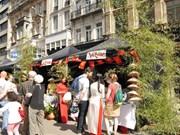 Arte culinario vietnamita conquista a amigos extranjeros en día cultural en Bélgica