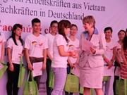 Amplía Alemania proyecto de capacitación a enfermeros vietnamitas
