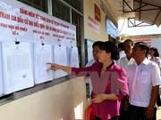 Presidenta parlamentaria supervisa preparativos electorales en provincia Hau Giang