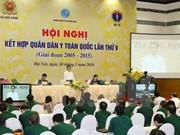 Exhorta vicepremier vietnamita a aumentar inversiones en la salud pública