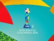 Realizarán en Colombia sorteo de Copa Mundial de Futsal 2016