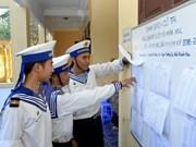Votantes en Truong Sa muestran expectativas antes día de elecciones