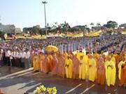 Congratulan seguidores budistas en ocasión de Vesak 2016