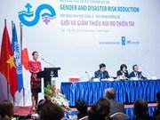 En Vietnam conferencia de género y reducción de riesgo de desastres de Asia-Pacífico
