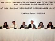 Empresas alemanas exploran oportunidades de inversión en ciudad vietnamita