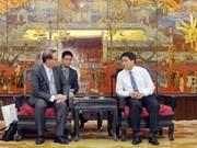 Hanoi y región francesa de Normandía promueven cooperación turística