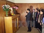 Celebran aniversario de natalicio de Ho Chi Minh en Sudáfrica