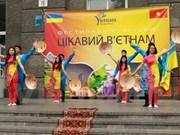 Presentan cultural tradicional vietnamita en Ucrania