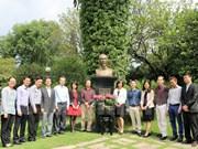 Rinden tributo en México al presidente Ho Chi Minh en ocasión de su natalicio