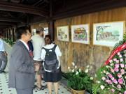 Exposición de acuarelas enaltece belleza de ciudad imperial vietnamita