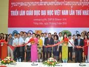 Exhibición de educación en Laos materializa plan de integración de Vietnam