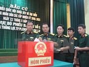 Vota el 95,84 % del electorado vietnamita, según cifra actualizada hasta 17:00