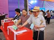 Inauguran elecciones generales en todo Vietnam