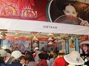 Stand vietnamita sobresale en Feria Culturas Amigas en México