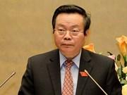 Vicepresidente de parlamento vietnamita recibe a congresistas de EE.UU.