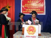 Participación de votantes llegó a 98,77% en Vietnam