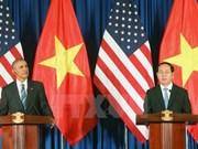 Emiten declaración conjunta Vietnam - Estados Unidos
