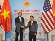 Cancilleres de Vietnam y EE.UU. satisfechos con logros de reuniones bilaterales