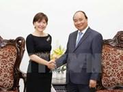 Recibe premier vietnamita a embajadora italiana