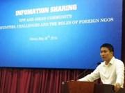Sesiona en Vietnam seminario para mejorar actividades de ONG
