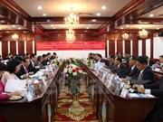 Ciudad Ho Chi Minh y Vientiane fomentan colaboración