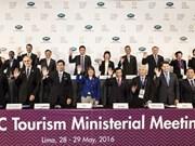 Economías de APEC promueven cooperación turística