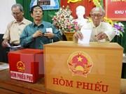 Localidades vietnamitas publican resultados de elecciones generales
