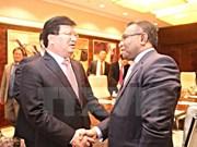 Viceprimer ministro vietnamita se reúne con dirigentes de Indonesia y Timor Leste