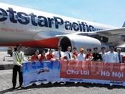Jestar Pacific abre vuelos directos de Hanoi a Chu Lai y Quy Nhon