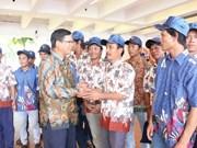 Vietnam e Indonesia buscan impulsar cooperación pesquera