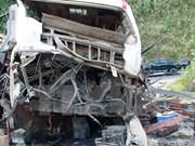 Explosión de autobús en Laos posiblemente causada por fuegos artificiales