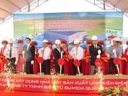 Inauguran en provincia vietnamita planta de inversiones japonesas