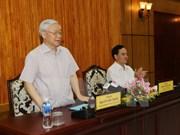 Líder partidista urge a Tay Ninh a desarrollar estrategias de desarrollo