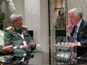 Vietnam promueve cooperación en defensa con UE, Reino Unido e Italia