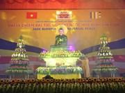 Muestra de Estatua de Buda de paz en Da Nang