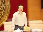 Subcomité electoral revisa resultados de las elecciones parlamentarias