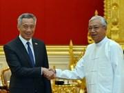 Myanmar y Singapur firman acuerdo de exención de visado