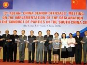 Altos funcionarios de ASEAN y China abordan temas sobre el Mar del Este